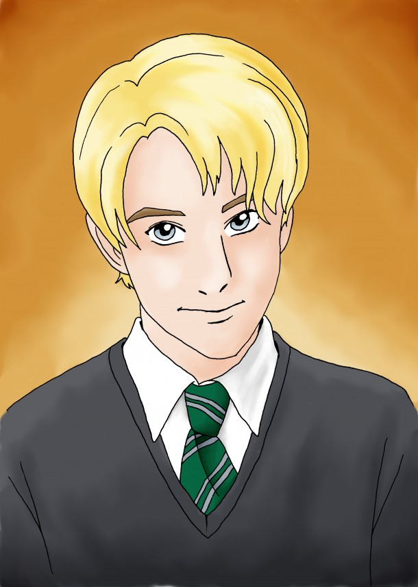 comic-portrait draco